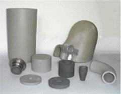 機械加工された各種部材